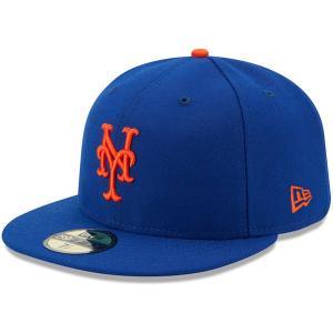 ニューエラ New Era ユニセックス キャップ 帽子 New York Mets Authentic Collection On-Field 59FIFTY Game Hat Royal|fermart-shoes