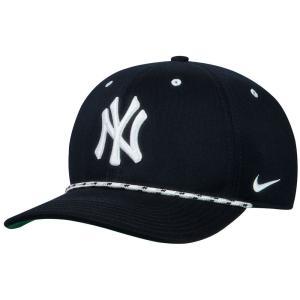 ナイキ Nike ユニセックス キャップ 帽子 New York Yankees Rope Cap Navy|fermart-shoes