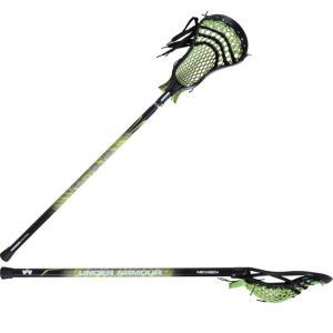 アンダーアーマー Under Armour ユニセックス クロス ラクロス Adult Nex Gen Complete Attack Lacrosse Stick Lime|fermart-shoes