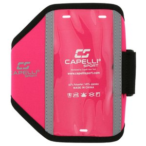 カペリ Capelli ユニセックス テックアクセサリー Sport IO Solid Armband Pink|fermart-shoes