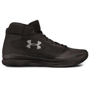 アンダーアーマー Under Armour メンズ シューズ・靴 バスケットボール Jet Basketball Shoe Black/Grey|fermart-shoes