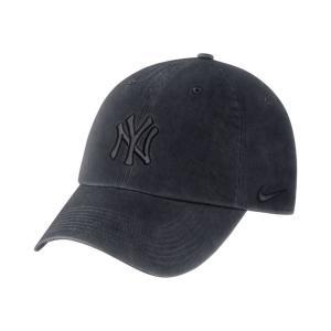 ナイキ Nike ユニセックス キャップ 帽子 New York Yankees Pigment Wash 2018 Adjustable Hat Navy|fermart-shoes