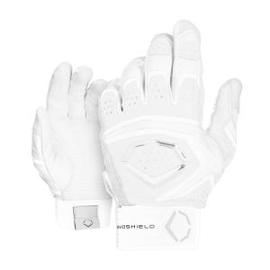 エボシールド EvoShield ユニセックス グローブ 野球 Adult Impact 950 Batting Gloves White fermart-shoes