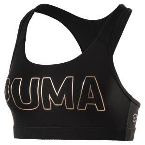 プーマ Puma レディース スポーツブラ インナー・下着 Logo Sports Bra White/Silver fermart-shoes