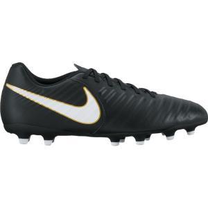 ナイキ Nike メンズ シューズ・靴 サッカー Tiempo Rio IV (FG) Soccer Cleat Black/White fermart-shoes