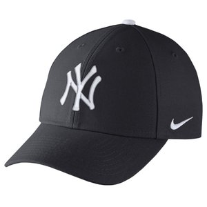 ナイキ Nike ユニセックス キャップ 帽子 New York Yankees Adult Wool Classic Adjustable Hat Navy|fermart-shoes