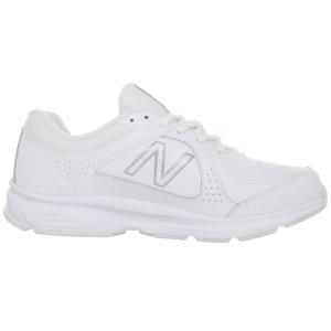 ニューバランス New Balance メンズ シューズ・靴 ランニング・ウォーキング 411 (Wide Width 4E) Walking Shoe White/White fermart-shoes