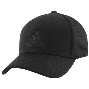 アディダス adidas メンズ キャップ 帽子 Zags II Flex Cap S/M Black/Black|fermart-shoes