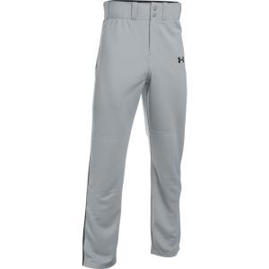 アンダーアーマー Under Armour メンズ ボトムス・パンツ 野球 Adult Clean Up Piped Baseball Pants Grey/Black|fermart-shoes