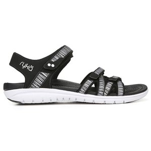 ライカ Ryka レディース サンダル・ミュール シューズ・靴 savannah wide width sandal Black|fermart-shoes