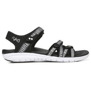 ライカ Ryka レディース サンダル・ミュール トングサンダル シューズ・靴 savannah thong sandal Black|fermart-shoes