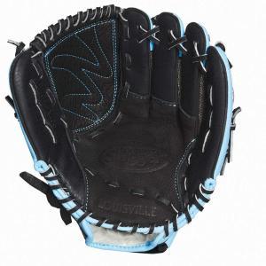 ルイスビルスラッガー Louisville Slugger ユニセックス グローブ 野球 Diva 10.5 Inch Right Hand Baseball Glove Blue|fermart-shoes