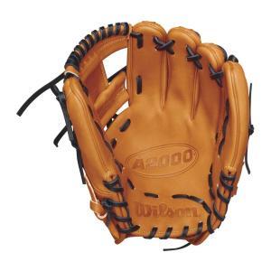 ウィルソン Wilson ユニセックス グローブ 野球 2018 A2000 11.5 Inch Right Hand Throw Baseball Glove Orange/Black fermart-shoes
