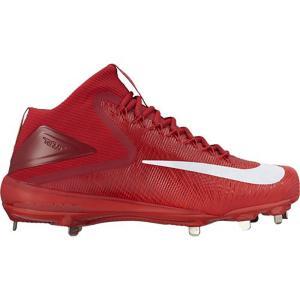 ナイキ Nike メンズ シューズ・靴 野球 Zoom Trout 3 Baseball Cleat Crimson|fermart-shoes