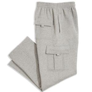 カーゴ Cargo メンズ スウェット・ジャージ ボトムス・パンツ Fleece Pant Heather Grey|fermart-shoes