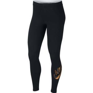ナイキ Nike レディース スパッツ・レギンス インナー・下着 Sportswear Metallic Leggings Black|fermart-shoes