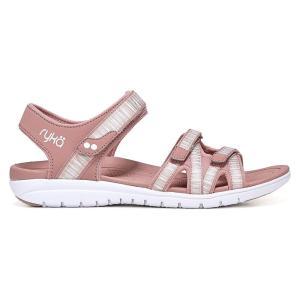 ライカ Ryka レディース サンダル・ミュール シューズ・靴 savannah sandal Pink|fermart-shoes