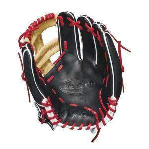 ウィルソン Wilson ユニセックス グローブ 野球 2018 A2000 11.75 Inch Right Hand Throw Baseball Glove Black/Red fermart-shoes