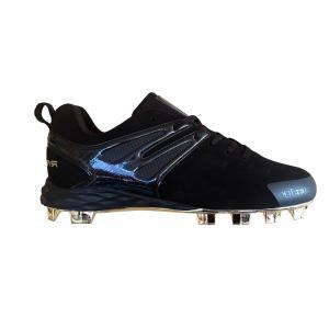 ローリングス Rawlings メンズ シューズ・靴 野球 Conquer Low TPU Baseball Cleat Black|fermart-shoes