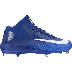 ナイキ Nike メンズ シューズ・靴 野球 Zoom Trout 3 Baseball Cleat Blue/White|fermart-shoes