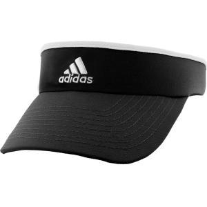 アディダス adidas レディース サンバイザー 帽子 Tennis Visor Black|fermart-shoes