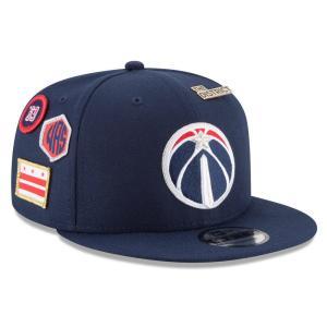 ニューエラ New Era ユニセックス キャップ 帽子 Washington Wizards Adult 2018 NBA Draft 9FIFTY Snapback Hat Navy|fermart-shoes