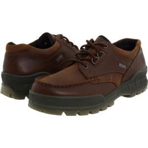 エコー メンズ スニーカー シューズ・靴 Track II Low Bison Leather/Bison Nubuck|fermart-shoes