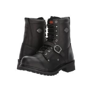 ハーレーダビッドソン メンズ ブーツ シューズ・靴 Faded Glory Black|fermart-shoes