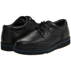 ハッシュパピー メンズ 革靴・ビジネスシューズ シューズ・靴 Mall Walker Black Leather|fermart-shoes