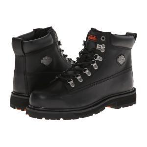 ハーレーダビッドソン メンズ ブーツ シューズ・靴 Drive Steel Toe Black|fermart-shoes