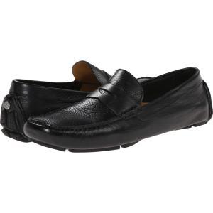 コールハーン メンズ ローファー シューズ・靴 Howland Penny Black Tumbled|fermart-shoes
