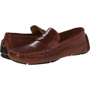 コールハーン メンズ ローファー シューズ・靴 Howland Penny Saddle Tan|fermart-shoes