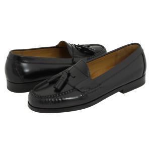 コールハーン メンズ ローファー シューズ・靴 Pinch Tassel Black|fermart-shoes