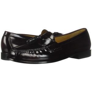 コールハーン メンズ ローファー シューズ・靴 Pinch Tassel Burgundy|fermart-shoes