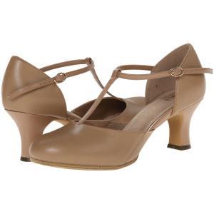 ブロック レディース ヒール シューズ・靴 Sfx Split Flex Tan|fermart-shoes
