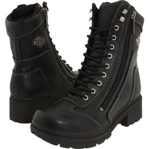 ハーレーダビッドソン レディース ブーツ シューズ・靴 Tessa Black|fermart-shoes