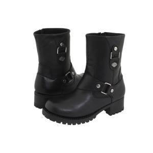 ハーレーダビッドソン レディース ブーツ シューズ・靴 Alivia Black|fermart-shoes