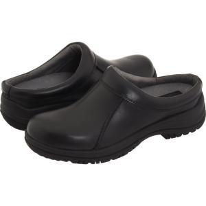 ダンスコ メンズ クロッグ シューズ・靴 Wil Black Smooth Leather fermart-shoes