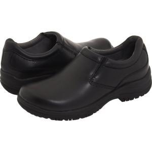 ダンスコ メンズ ローファー シューズ・靴 Wynn Black Smooth Leather fermart-shoes