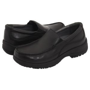 ダンスコ メンズ ローファー シューズ・靴 Wayne Black Full-Grain Leather fermart-shoes