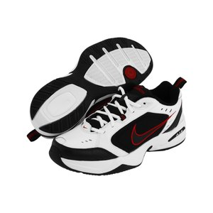 ナイキ メンズ スニーカー シューズ・靴 Air Monarch IV White/Black-Varsity Red|fermart-shoes