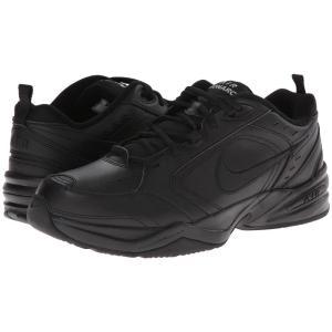 ナイキ メンズ スニーカー シューズ・靴 Air Monarch IV Black/Black|fermart-shoes