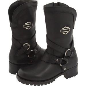 ハーレーダビッドソン Harley-Davidson レディース ブーツ シューズ・靴 Amber Black|fermart-shoes