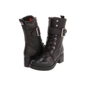 ハーレーダビッドソン レディース ブーツ シューズ・靴 Jammie Black|fermart-shoes