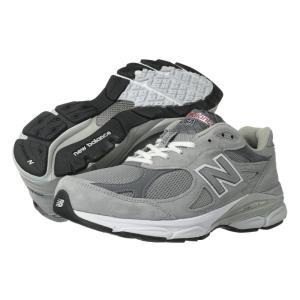 ニューバランス メンズ スニーカー シューズ・靴 M990v3 Grey|fermart-shoes