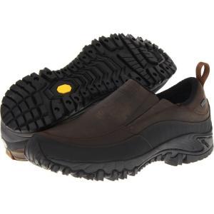 メレル メンズ ローファー シューズ・靴 Shiver Moc 2 Waterproof Dark Earth|fermart-shoes