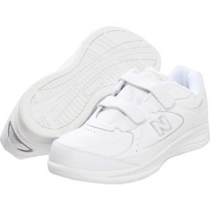 ニューバランス メンズ スニーカー シューズ・靴 MW577 Hook-and-Loop White/White|fermart-shoes