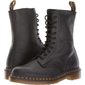 ドクターマーチン レディース ブーツ シューズ・靴 1490 10-Eye Boot Black Virginia|fermart-shoes