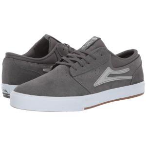 ラカイ Lakai メンズ シューズ・靴 Griffin Grey/Silver Suede|fermart-shoes