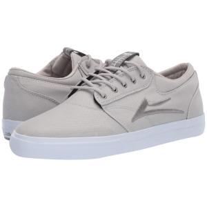 ラカイ Lakai メンズ スニーカー シューズ・靴 Griffin Silver Textile|fermart-shoes